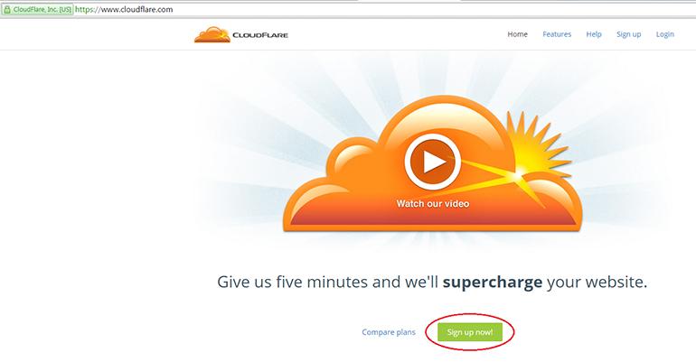 DNS-хостинг CloudFlare